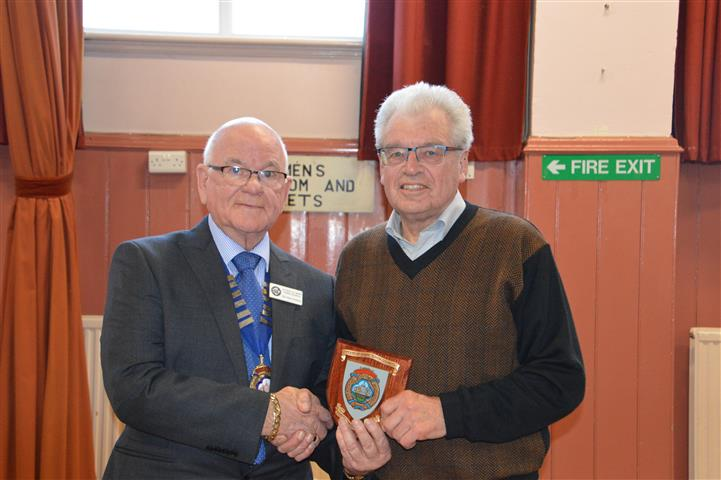 RICHARD COLEY AWARDED CITIZEN OF THE YEAR 2018